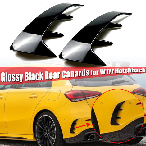 Ducks replacement Black rear Flick gloss Benz W177 A200 A250 A35 AMG 2019 Mohoo
