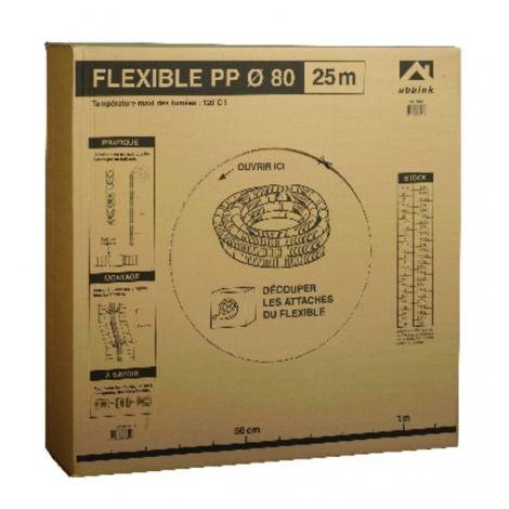 Duct diameter 80 translucent PP hose (X 50) - UBBINK : 330048