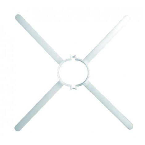 DUCT FOR ROOM SEALED BOILER - Spider flange UBBINK 716083 - UBBINK : 716083