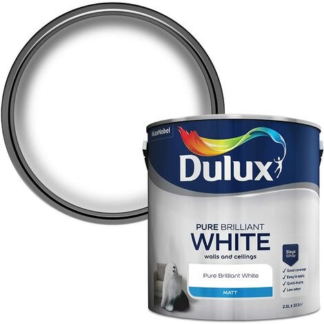 "main image of ""Dulux Matt Pure Brilliant White (select size)"""