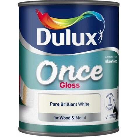 Dulux 2.5L - Once Satinwood Pure Brilliant White