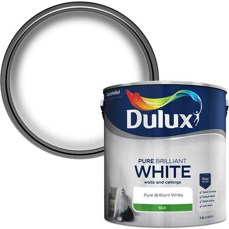 Dulux 2.5L - Silk Pure Brilliant White