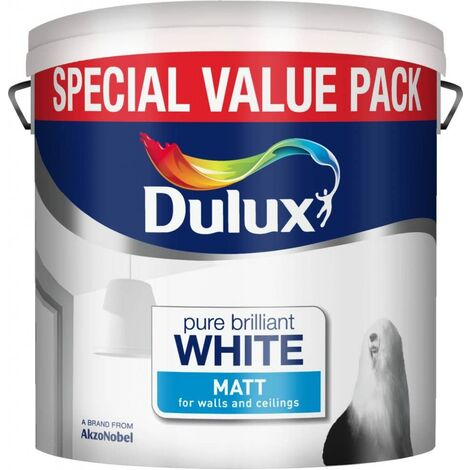 Dulux 6L - Matt Pure Brilliant White