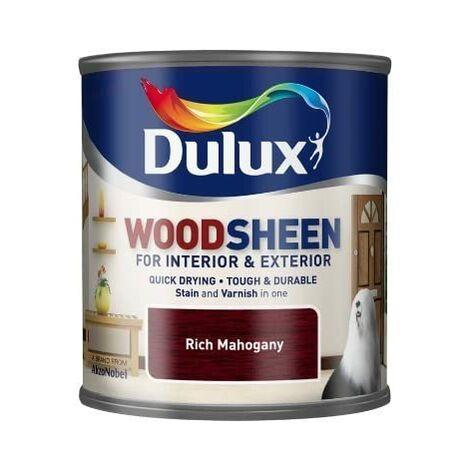 Dulux Interior & Exterior Woodsheen 250ml Rich Mahogany