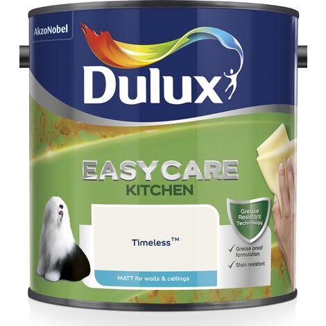 Dulux Kitchen Easycare Matt 2.5L (choose colour)