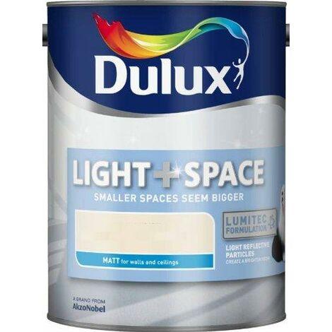 Dulux Light and Space Matt 5L (choose colour)