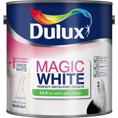 Dulux Magic Silk Pure Brilliant White (select size)