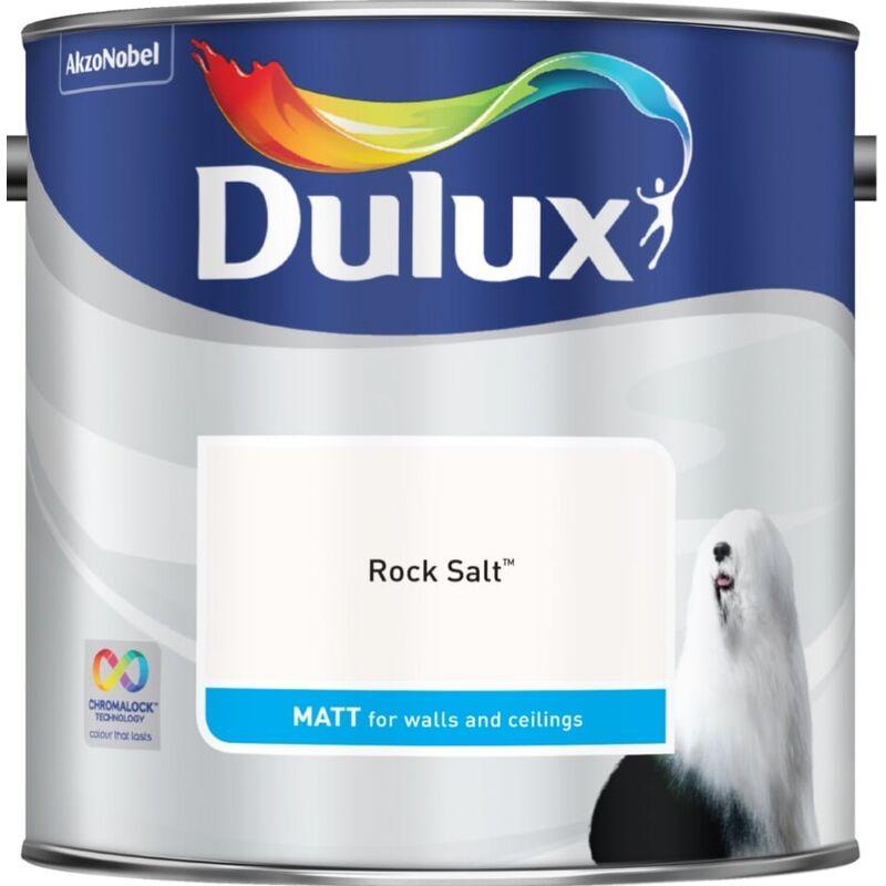 Image of Dulux Retail Matt Paint - Rock Salt - 2.5 Litres