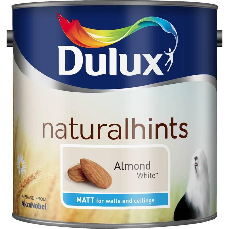 Image of Barley White (tinted to order) Matt 5L - Dulux