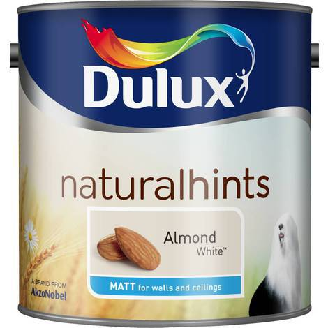 Dulux Matt Natural Hints 5L (select colour)