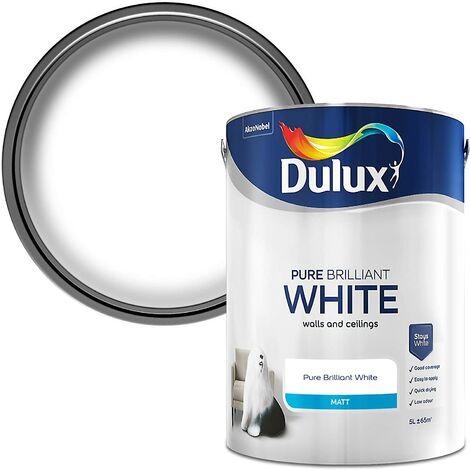 Dulux Matt Pure Brilliant White (select size)