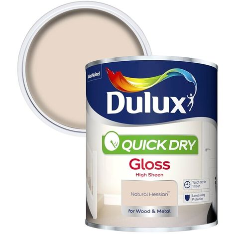 Dulux Quick Dry Gloss Colours 750ml *ALL COLOURS AVAILABLE* Tracked Postage