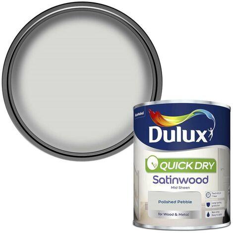 "main image of ""Dulux 750ml - Quick Dry Gloss Pure Brilliant White"""