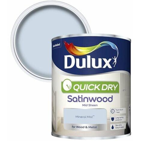 Dulux Quick Dry Satinwood 750ml (choose colour)