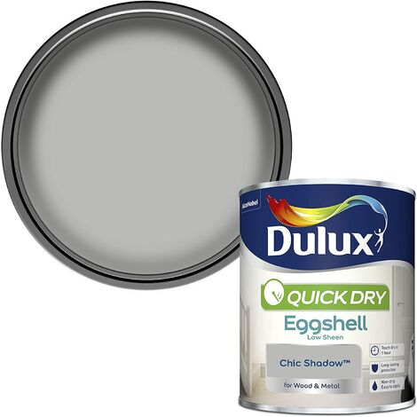 """main image of """"Dulux Quick Drying Eggshell 750ml Chic Shadow"""""""
