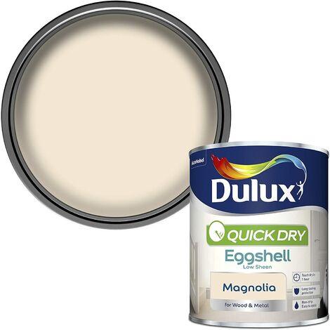 Dulux Quick Drying Eggshell 750ml Magnolia