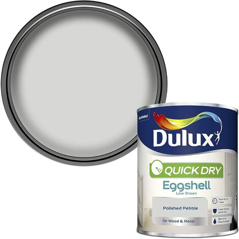 Dulux Quick Drying Eggshell 750ml Polished Pebble