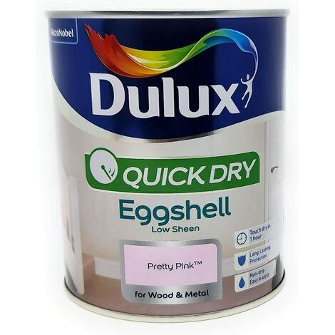 Dulux Quick Drying Eggshell 750ml Pretty Pink