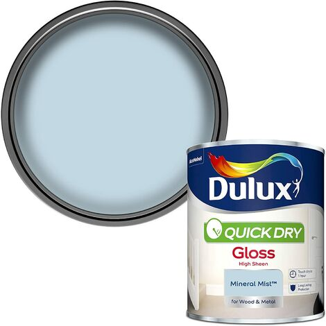 """main image of """"Dulux Quick Drying Gloss 750ml Mineral Mist"""""""