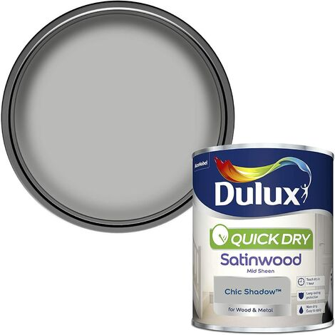 Dulux Quick Drying Satinwood 750ml Chic Shadow