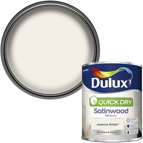 Dulux Quick Drying Satinwood 750ml Jasmine White