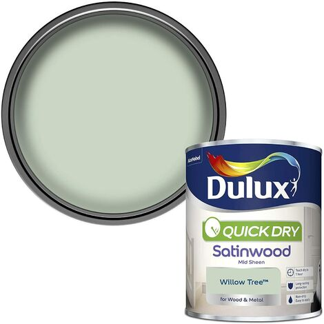 Dulux Quick Drying Satinwood 750ml Willow Tree