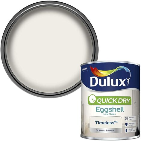 Dulux Retail Quick Dry Eggshell Colours 750ml *ALL 4 COLOURS* Tracked Postage