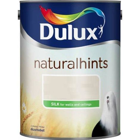 Dulux Silk Natural Hints 5L (select colour)