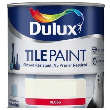 Dulux Tile Paint 600ml (choose colour)