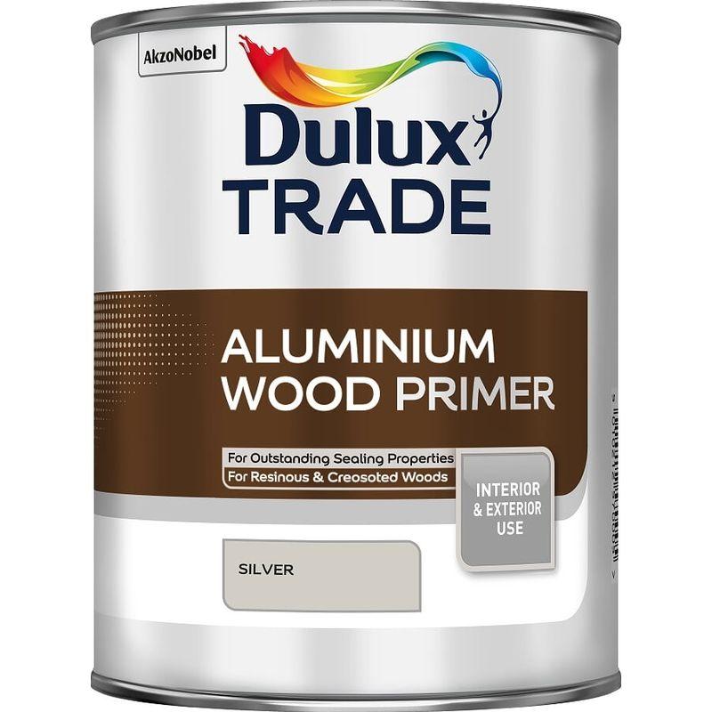 Image of Dulux Trade Aluminium Wood Primer 1L