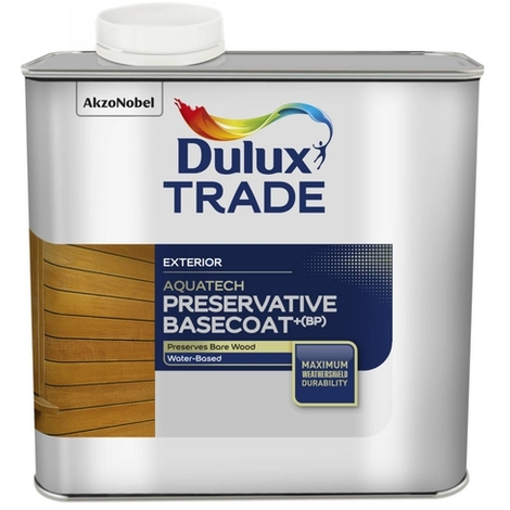 Dulux Trade Aquatech Preservative Basecoat+ (BP) (select size)