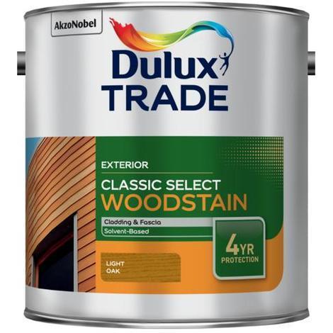 Dulux Trade Classic Select Woodstain Light Oak (select size)