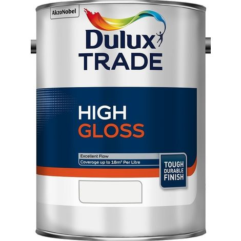 Dulux Trade High Gloss Standard Colours (select size & colour)