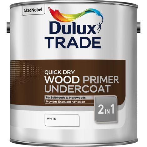 Dulux Trade Quick Dry Wood Primer 2.5L