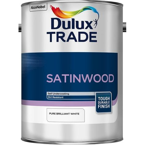 Dulux Trade Satinwood PBW (select size)