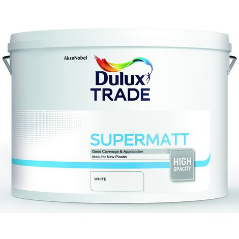 Dulux Trade Supermatt (select colour and size)