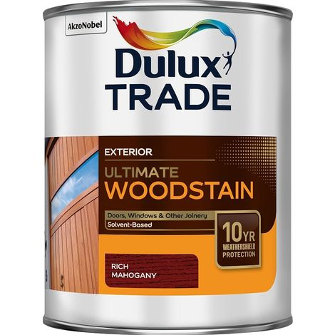 Dulux Trade Ultimate Woodstain (select size & colour)