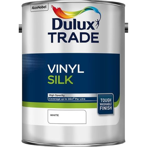 Dulux Trade Vinyl Silk Standard Colours (select size & colour)