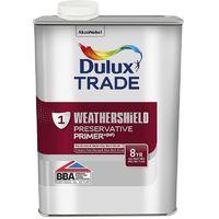 Dulux Trade Weathershield Exterior Preservative Primer + (select size)