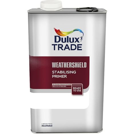 Dulux Trade Weathershield Stabilising Primer - 5 Litres