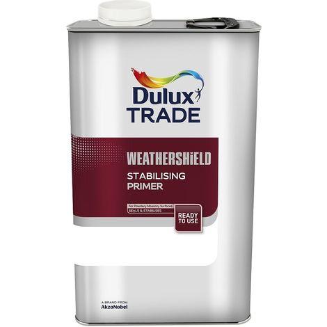 Dulux Trade Weathershield Stabilising Primer - 5 Litres