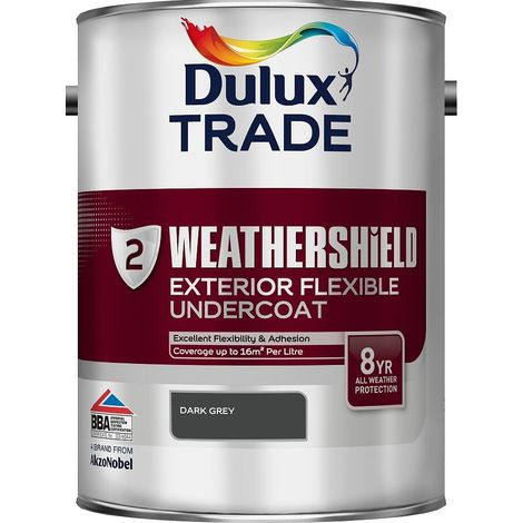 Dulux Trade Weathershield Undercoat (select size & colour)
