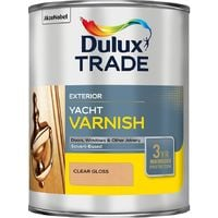 Dulux Trade Weathershield Yacht Varnish Clear 1L / 2.5 Litres