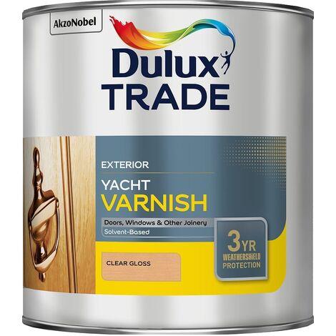 Dulux Trade Weathershield Yacht Varnish (select size)