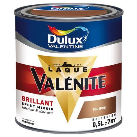 DULUX VALENTINE - Laque brillante 0.5L base claire