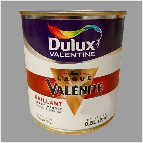 DULUX VALENTINE Laque Valénite Brillant Titanium 0,5 L - Titanium