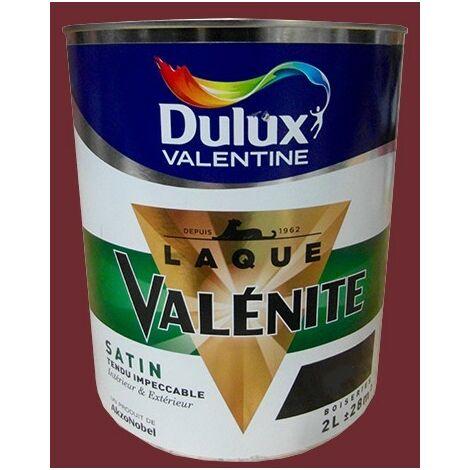 DULUX VALENTINE Laque Valénite Satin Rouge Basque - 2 L