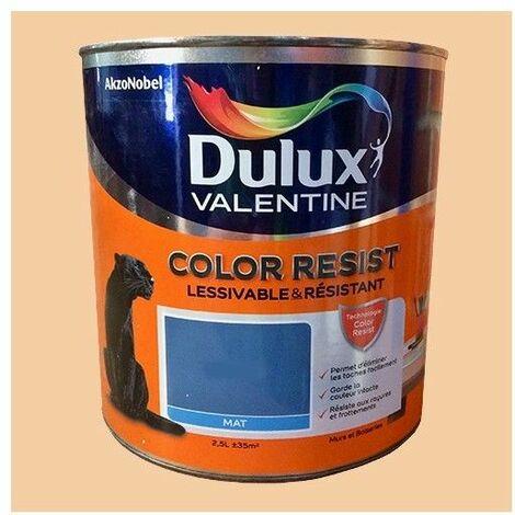 Dulux Valentine Peinture acrylique Color Resist Aurore Mat - 2,5 L