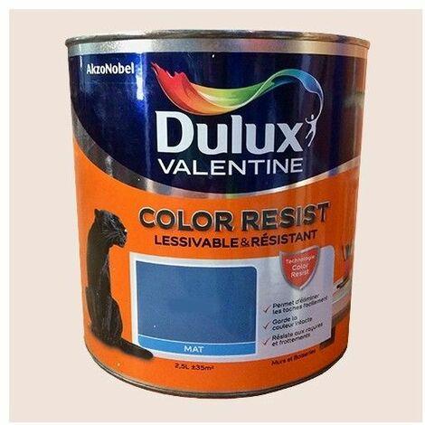 Dulux Valentine Peinture acrylique Color Resist Plâtre rose Mat - 2,5 L