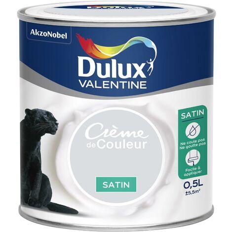 DULUX VALENTINE Peinture acrylique Crème de couleur Framboise - 2,5 L
